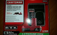Craftsman 19.2 volt C3 Lithium Battery and Charger Maintainer