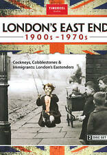 LONDON'S EAST END: 1900s-1970s Collection [2 Disc Set!] DVD [B823]