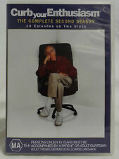 DVD - CURB YOUR ENTHUSIASM - COMPLETE SEASON 2 - REGION 4 - GREAT CONDITION