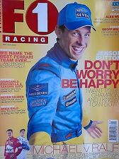 F1 racing magazine may 2002  features lots to read about etc free p&p to uk