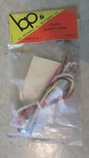 b p Stereo Power Cable - Model No. PC-2 - New!!!   (B 4)
