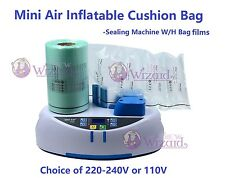 Mini air Inflatable cushion machine with bag film Inflatable air bags cushion