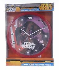 "OFFICIAL NEW 10"" DISNEY STAR WARS DARTH VADER CHILDRENS CLOCK BEDROOM CLOCK"