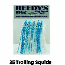 25 Surface 8 cm Squid Lure Trolling  Bait Game Live Bait Fishing tackle Salmon