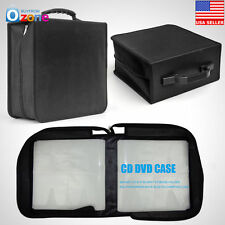 400 Disc CD DVD Bluray Storage Holder Solution Binder Book Sleeves Carrying Case