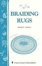 Braiding Rugs Book~Step-by-Step Instruction~Planning~Color Schemes~Fun Craft~NEW