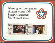 NICARAGUA Bicentenario USA Bicentennial