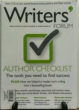 The Writers Forum Issue 76 Author Checklist Tools for Success FREE SHIPPING sb
