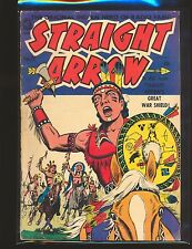 Straight Arrow # 20 - origin Straight Arrow's Shield G/VG Cond.
