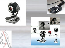 30 Mpixel USB web cam Camera webcam micrófono clip PC portátil skype MSN pelota Black