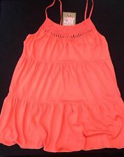 NWT Juicy Couture New Genuine Ladies Small Orange 100% Modai StrappyTop UK 10