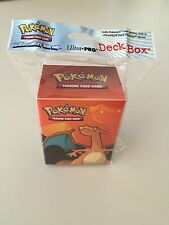 Ultra Pro Pokemon TCG Charizard Deck Box Card Storage/Holder With Divider