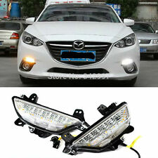 Exact Fit Mazda3 Axela Switchback LED Daytime Running Lights Turn Signal Lamps