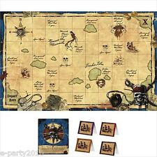 PIRATES of the CARIBBEAN PARTY GAME POSTER ~ Birthday Supplies Stranger Tides