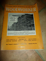 Woodworker March 1959 ~ Retro Vintage Illustrated Magazine + Advertising