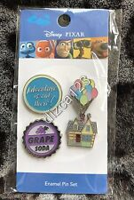 Disney Pin Pixar UP, Adventure Is Out There, Grape Soda and Balloons House Pins