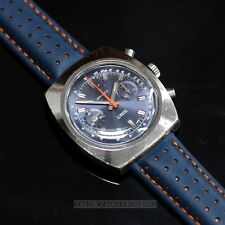 SANDOZ 17J Incabloc Vintage Mechanical 248 Chronograph Racing Retro Watch
