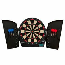Best Electronic Dart Board Electric With Plastic Cabinet Arachnid Game Room 18""
