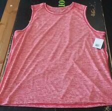 REEBOK SPORT SPEEDWICK SLEEVELESS MOTOR RED DYE TECH TEE SIZE XXL