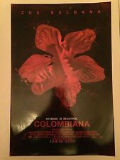 COLOMBIANA 11.5x17 PROMO MOVIE POSTER