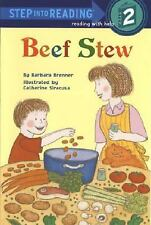 BEEF STEW Step Into Reading With Help 2 Reader*2.95 SHIPS ALL ORDER*Build a Lot