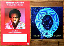 CHILDISH GAMBINO Awaken, My Love | Because The Internet Ltd Ed RARE Posters Lot!