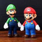 Lot 2 Nintendo New Super Mario Bros Brothers Luigi Toy PVC Action Figure Gift