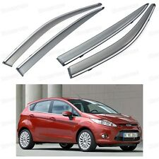 Car Window Visor Vent Shade Rain/Sun/Wind Guard for Ford Fiesta 5-door 2009-2012