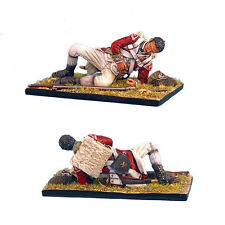 First Legion: AWI035 British 5th Foot Grenadier Laying Wounded
