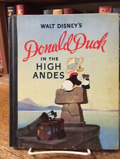 WALT DISNEY'S DONALD DUCK IN THE HIGH ANDES  1ST BY DISNEY