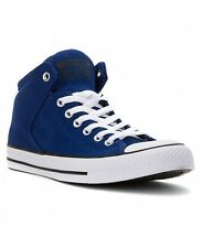CONVERSE ALL STAR CHUCK TAYLOR HIGH STREET MEN SHOES BLUE 151042F SIZE 11 NEW