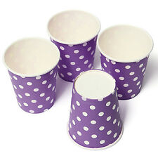 10 Polka Dots Paper Drinking Cups Wedding Party Drinking Tableware Color 6