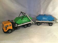 Siku Super Serie no. 3516 Recycling Absetzkipper mit Anhänger