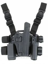 Airsoft 226 CQC SERPA Leg Panel with holster magazine pouch & torch pouch