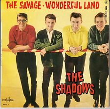 """45 T EP THE SHADOWS  """"THE SAVAGE"""""""