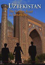 UZBEKISTAN La Via dell'Oro per Samarcanda LIBRO GUIDA Odyssey Inglese NEW .cp
