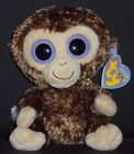 TY BEANIE BOOS BOO'S - COCONUT the MONKEY - MINT with NEAR MINT TAG SR