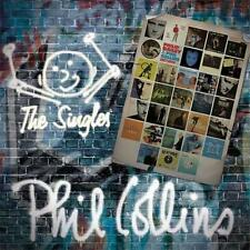 PHIL COLLINS (THE SINGLES - GREATEST HITS 2CD SET SEALED + FREE POST)