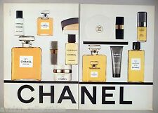 Chanel 2-Page PRINT AD - 1979 ~ perfume, cologne, fragrance, lotion, moisturizer