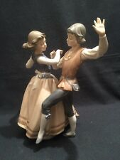 Lladro Couple Dancing The Polka Retired Boxed