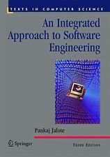An Integrated Approach to Software Engineering by Pankaj Jalote (2010,...