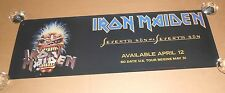 Iron Maiden Seventh Son of a Seventh Son Promo 1988 Original Poster 12x36