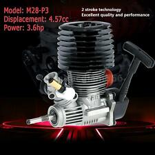 SH M28-P3 4.57cc 2-stroke Pull Start Engine for 1/8 Nitro Truggy RC Car W0N8