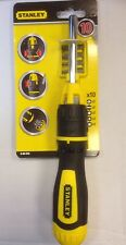 Stanley Ratchet Screwdriver With 10 Bits - STA068010 / 0-68-010