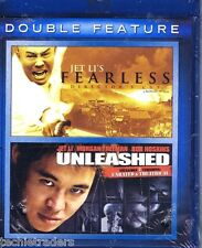 Jet Li's Fearless/Unleashed (Blu-ray Disc, 2011, 2-Disc Set)    Factory Sealed