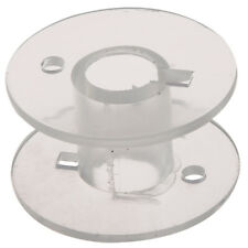 25 Clear Plastic Sewing Machine Bobbins for Fits Singer Janome Toyota N3