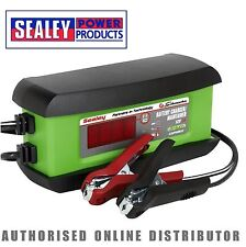 Sealey SPI3S 3A Intelligent Lithium Battery Charger Stop Start Leisure GEL AGM