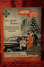 Das Auto AMS 24/54 Auto Motor Sport Chrysler Chevrolet Plymouth Pont