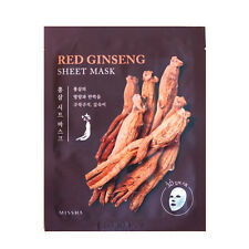 Missha Red Ginseng Sample Mask 3D Sheet for Firming and Nourising 15 pcs