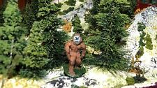 Ho Scale Painted Bigfoot figure/ Sasquatch/ yeti --resin 36mm